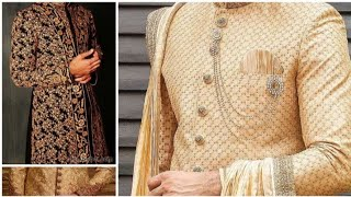 New Mens Sherwani Designs And Collection For Wedding | New Sherwani Collection
