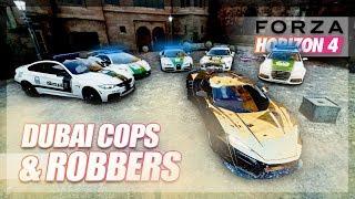 Forza Horizon 4 - Cops and Robbers! (Dubai Edition)