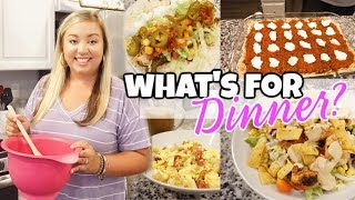 WHAT'S FOR DINNER | EASY WEEKNIGHT MEALS | JESSICA O'DONOHUE