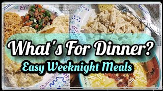 What's For Dinner | Easy Weeknight Meals | Budget Friendly Meals