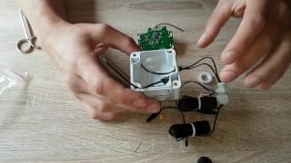 ELV Homematic Komplettbausatz Differenz-Temperatur-Sensor zusammengebaut