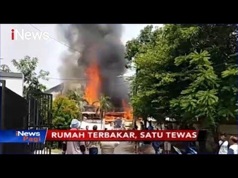 Rumah Tempat Penyimpanan Alat Pesta di Jaktim Terbakar, Satu Orang Tewas - iNews Pagi 12/11