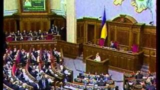 Тимошенко ржет и ... кароче! Обкуреная (11 апреля 2008)