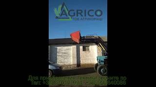 Купить погрузчик 4,6 м на МТЗ 892 с ковшом 1,5 куба от компании Агрикомаш ООО - видео