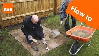 How To Lay A Shed Base