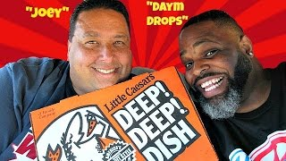 Little Caesars Pizza® $8 Box Set Review with Daym Drops!