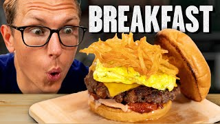 Mythical Chef Josh's Perfect Burger (Breakfast Edition)