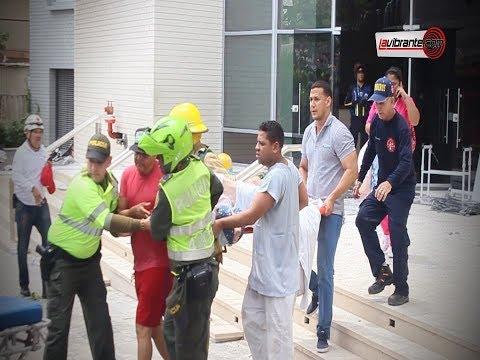 Incendio en la Clinica La Merced genero panico en Barranquilla