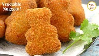 Homemade Veggie Nuggets Recipe for Kids tiffin Box   Mix Vegetable Chop   Vegetable Nuggets Recipe