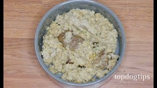 Homemade Dog Food for Dachshunds