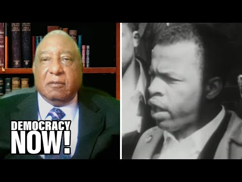 Civil Rights Icon Bernard Lafayette on His Friend John Lewis, Freedom Rides & Practicing Nonviolence