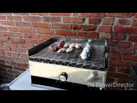 Griglia a gas INOX - la griglia artigianale