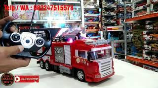 Mainan Anak Mobil RC Fire Rescue 5CH / mobil RC Pemadam Kebakaran