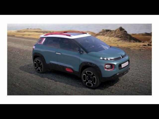 [REVEAL] C-AIRCROSS CONCEPT: CITROEN'S SUV SIGNATURE