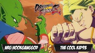 NRG|HookGangGod(Cooler/Piccolo/SSJ Vegeta) Fights The Cool Kid93(SSB Goku/Broly/Gotenks)