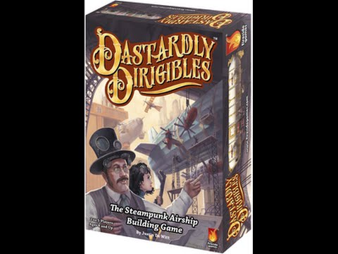 Fireside Games - Dastardly Dirigibles at GAMA 2016