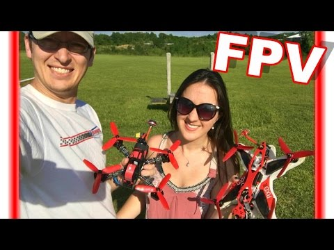 Race Droning Around & Practicing New Stunts - Walkera Furious 215 - TheRcSaylors