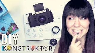 DIY KAMERA: Lomography Konstruktor - Super Kit   Tutorial