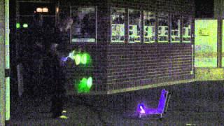 preview picture of video 'Mad Hias mit seiner Leuchtshow'