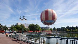 Disneyland Paris Vlog August 2020 part 1 : prep, flying in 2020 & Newport Bay!