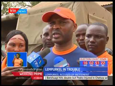 Mathew Lempurkel arrested over incitement allegation
