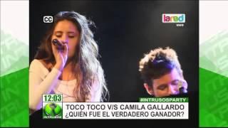 Toco Toco vs. Camila Gallardo ¿Quién fue el verdadero ganador?