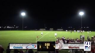 Boys Soccer Sectional Semifinals - Caston vs Winamac