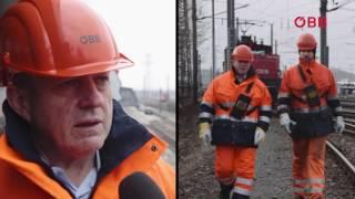 Der ÖBB Perspektivenwechsel: Rail Cargo Vorstand Ferdinand Schmidt beim Verschub