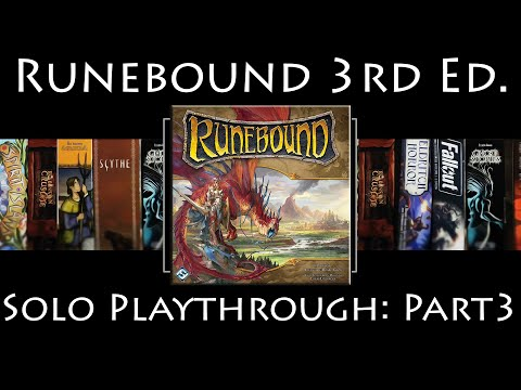 Runebound 3rd Edition: Rules Overview & Solo Playthrough | The Ascendance of Margath | Part 3