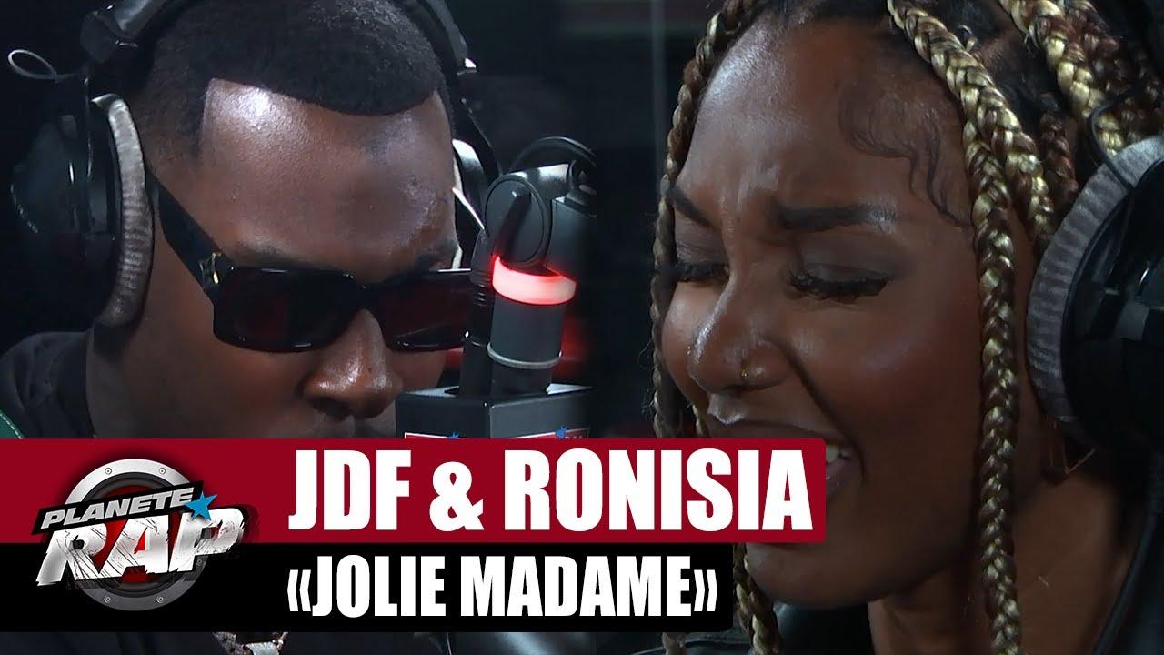 """Joé Dwèt Filé feat. Ronisia """"Jolie madame"""" #PlanèteRap"""