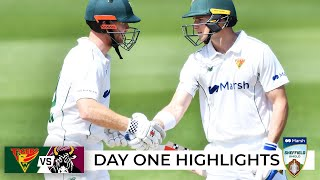 Tigers top order dominates day one | Sheffield Shield 2021-22