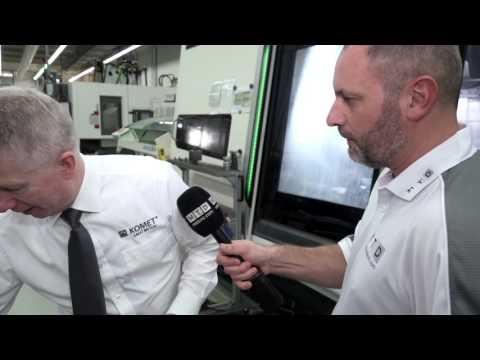 KOMET® hi.apQ milling cutter - Interview with Komet UK Managing Director Steve Kirk