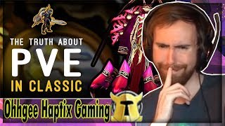 "Asmongold Reacts to ""Can 14 year old PvE be Competitive? The Reality of Classic Raiding"" by Ohhgee"