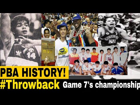 PBA HISTORY'S GREATEST GAMES OF ALL TIME| Balik tanaw sa Game 7's championship ng PBA