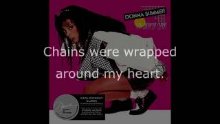 "Donna Summer - I'm Free (12"" Single) LYRICS SHM ""Cats Without Claws"" 1984"