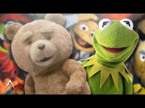 TED meets KERMIT The Frog!