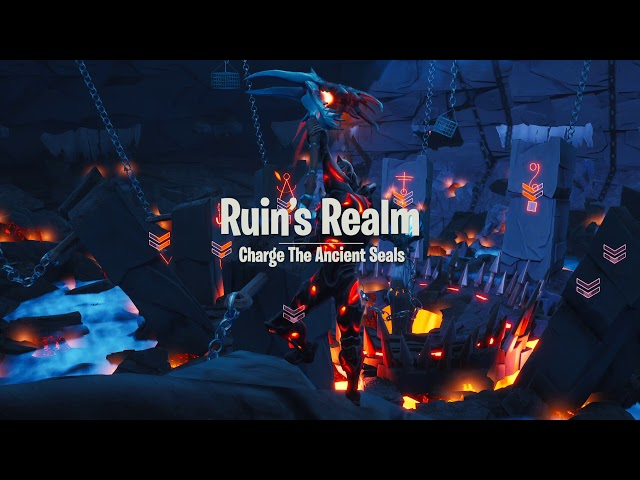 RUINS REALM – CHARGE THE ANCIENT SEALS