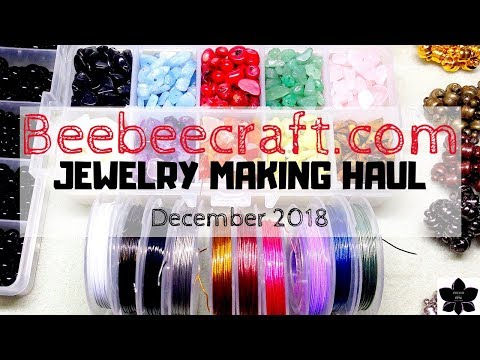 Beebeecraft.com Online Haul | Bead, Craft, Jewelry Making Product Review | December 2018