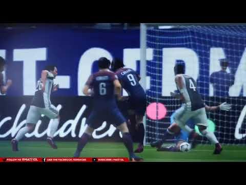PSG vs Juventus de FIFA 19