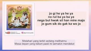 Easy Lyric GFRIEND - SUNRISE By GOMAWO [Indo Sub]