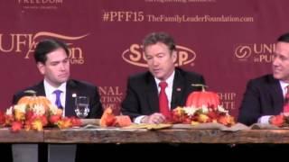 2015 Presidential Family Forum (Full Video)