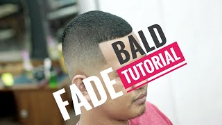 Best Bald Fade Haircut Very Smooth Tuttorial