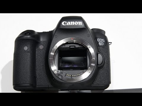 Canon 6D hands on