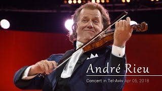 Andre Rieu and his Johann Strauss Orchestra in Tel-Aviv 05-04-2018