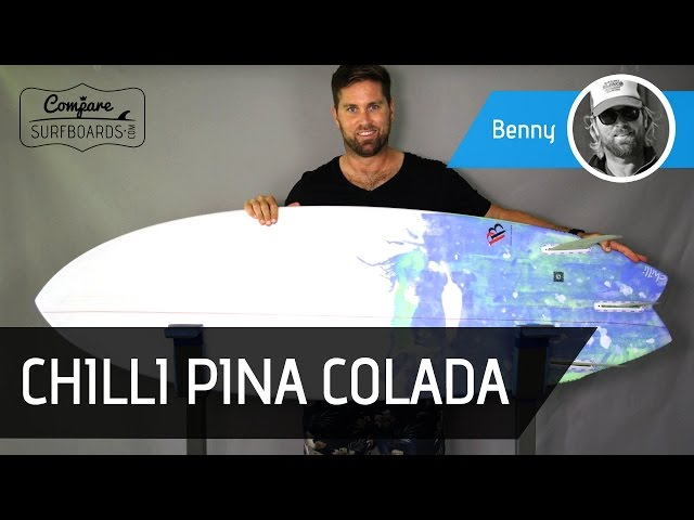 Chilli Surfboards Chilli Pina Colada Twin Fin Surfboard Review | Compare Surfboards