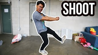 This dance has been everywhere! Might as well do it and dance! Shoot! Shoot! Shoot! Shoot!  Subscribe and become a GUAV! ➽ http://bit.ly/GUAVAJUICE  Download the Stay Juicy album  ➽ https://itunes.apple.com/us/album/stay-juicy/1335287379 Get a Guava Juice Box ➽ https://goo.gl/0dTjI7 Merchandise ➽ http://crowdmade.com/guavajuice  Want a shoutout? ➽ http://https://www.bookcameo.com/guavajuice  Watch some of these AWESOME playlists! ---------------------------------------------------------------- Do Not Do This! ➽ https://youtube.com/watch?v=jO19XxEXmmQ&list=PLg8oaaTdoHzMxpqfzRHzxC-qf9Ej60dBK&index=1 Fun Experiments! ➽ https://youtube.com/watch?v=_3BY6iOVyEE&index=1&list=PLg8oaaTdoHzPwBKFOjf5JSlvsloSJAC-S Bath Tub Challenges! ➽ https://youtube.com/watch?v=dIR-a2__vBU&index=1&list=PLg8oaaTdoHzNfQc-PFaKBVTe_-1f1NUeu Your Favorite Videos! ➽ https://youtube.com/watch?v=_3BY6iOVyEE&list=PLg8oaaTdoHzO9kk-v-DYwYECfiWwHNm0v&index=1  Follow me on the Social Media! ---------------------------------------------------------------- Twitter ➽ http://twitter.com/GuavaRoi Instagram ➽  http://instagram.com/GuavaRoi Facebook ➽ http://facebook.com/GuavaRoi Snapchat ➽  WhereIsRoi  Become a true Guava Juice fan! ---------------------------------------------------------------- Wanna help do my captions?  ➽ http://bit.ly/2pDaiIV Send me some FAN ART! ➽  http://bit.ly/GuavaFB  ╘[◉﹃◉]╕ ╘[◉﹃◉]╕╘[◉﹃◉]╕  What's up YouTube! Welcome to Guava Juice! I post a video every day at 12PM PST! You may know me as Roi Wassabi from Wassabi Productions.  On here, you'll find INSANE challenges, filling up my BATH TUB with random things, COOL experiments, SILLY DIY, and random shenanigans that you'll love! I also have played games from Roblox and Happy Wheels, Horror Games, and random games you've never heard of. You'll also find Subscribe and become a GUAV! You won't be disappointed!   ( ́ ◕◞ε◟◕`)  Thanks for reading the end of this description!  #stayjuicy #guavajuice