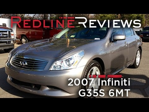 2007 Infiniti G35S 6MT Review, Walkaround, Exhaust, Test Drive