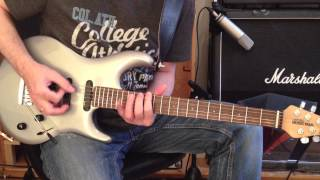 GMC Guitar Lesson 1 (Steve Lukather Style)