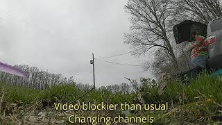 A Raw FPV Video before rain