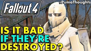 Fallout 4: Why Destroying the Institute Seems Like a Bad Idea... #PumaThoughts